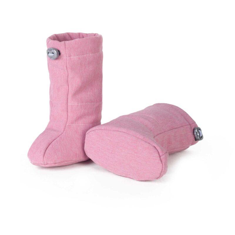 fun2bemum softshell boots dust pink ocieplacze softshell 2