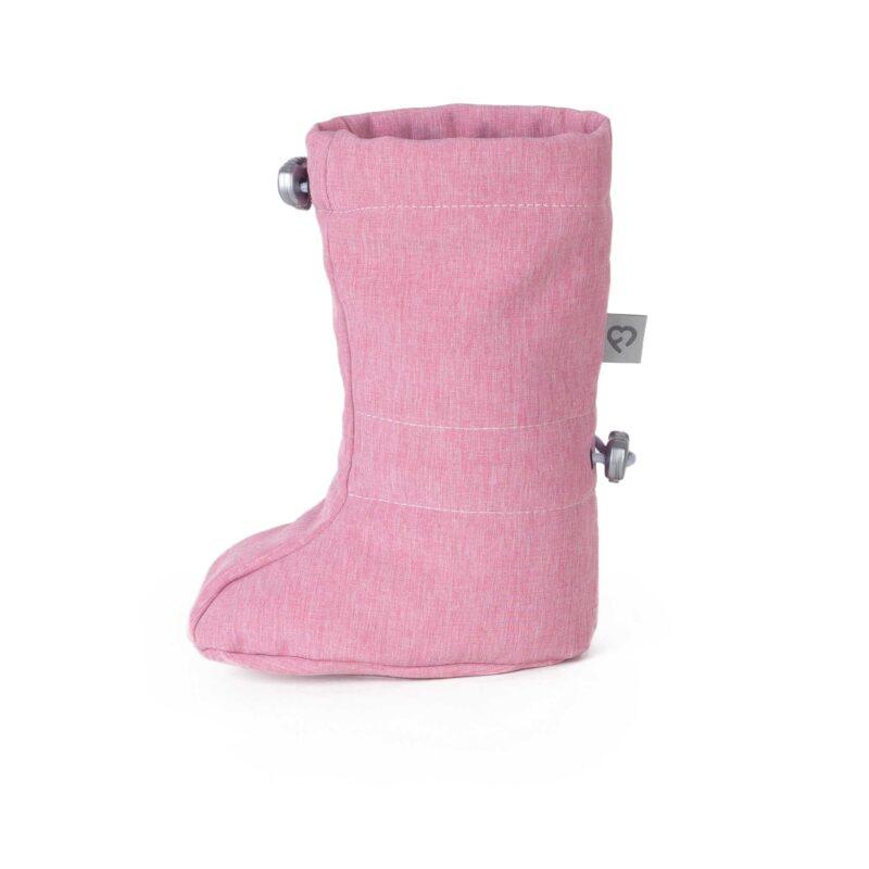 fun2bemum softshell boots dust pink ocieplacze softshell 3