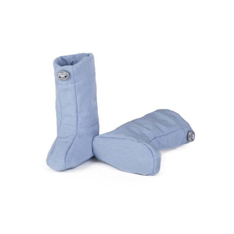 fun2bemum softshell boots for baby dust blue melange II