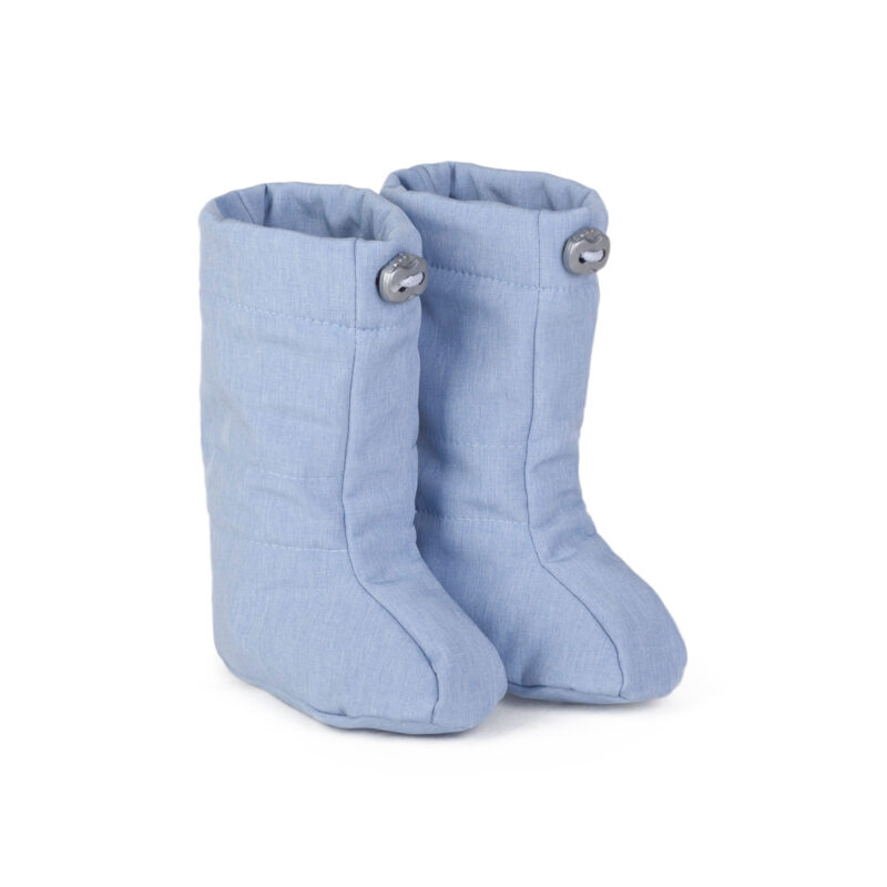 fun2bemum softshell boots for baby dust blue melange III