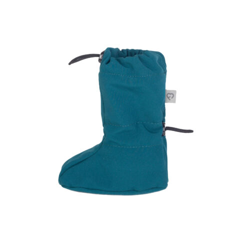 fun2bemum softshell boots for baby petrol green II