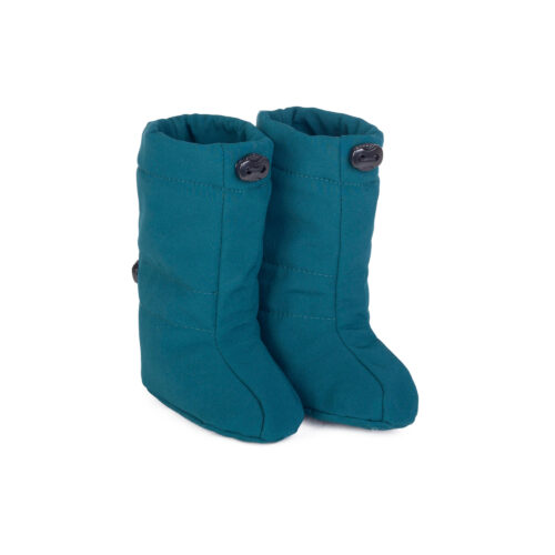 fun2bemum softshell boots for baby petrol green III