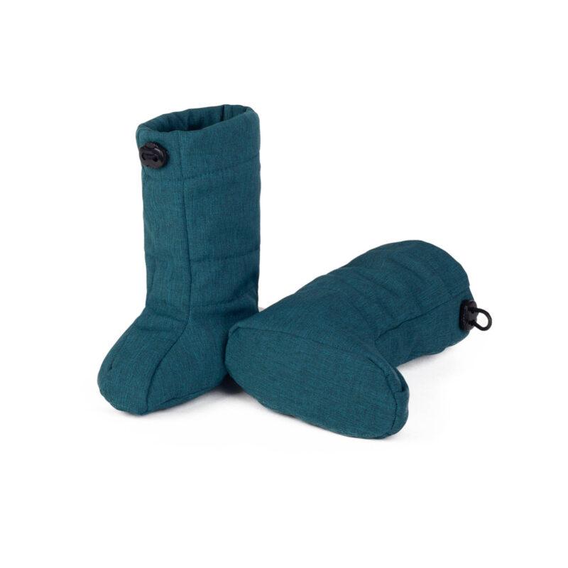 fun2bemum_softshell boots for baby petrol green melange III