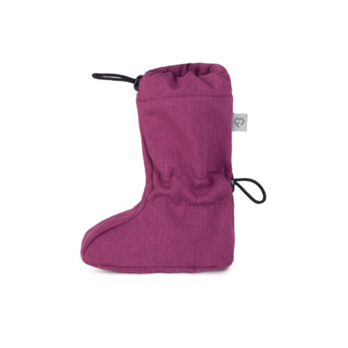 fun2bemum softshell boots for baby plum melange II