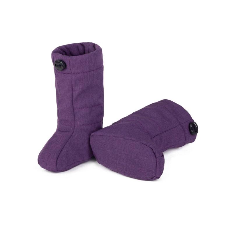 fun2bemum softshell boots for baby purple melange II