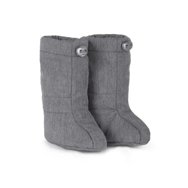 fun2bemum softshell boots grey melange