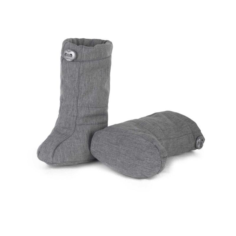fun2bemum softshell boots grey melange 1